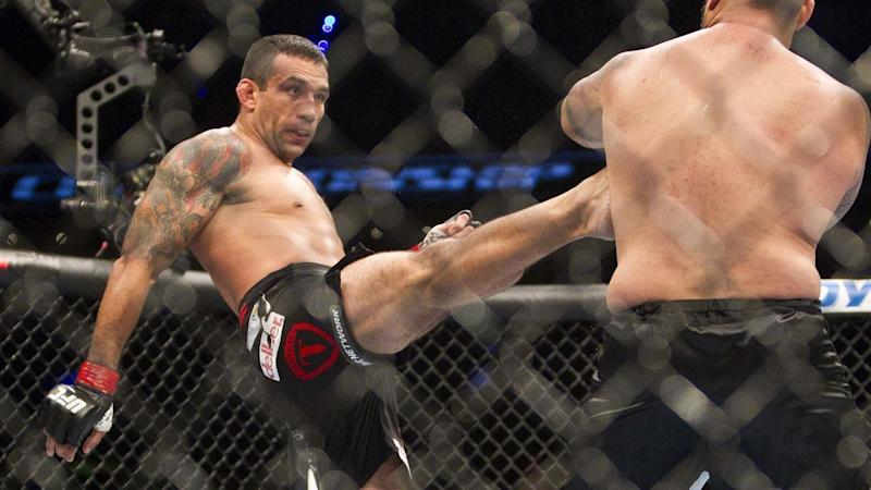 UFC fighter Fabricio Werdum allegedly used a boomerang to assault a fellow fighter in Sydney's CBD.