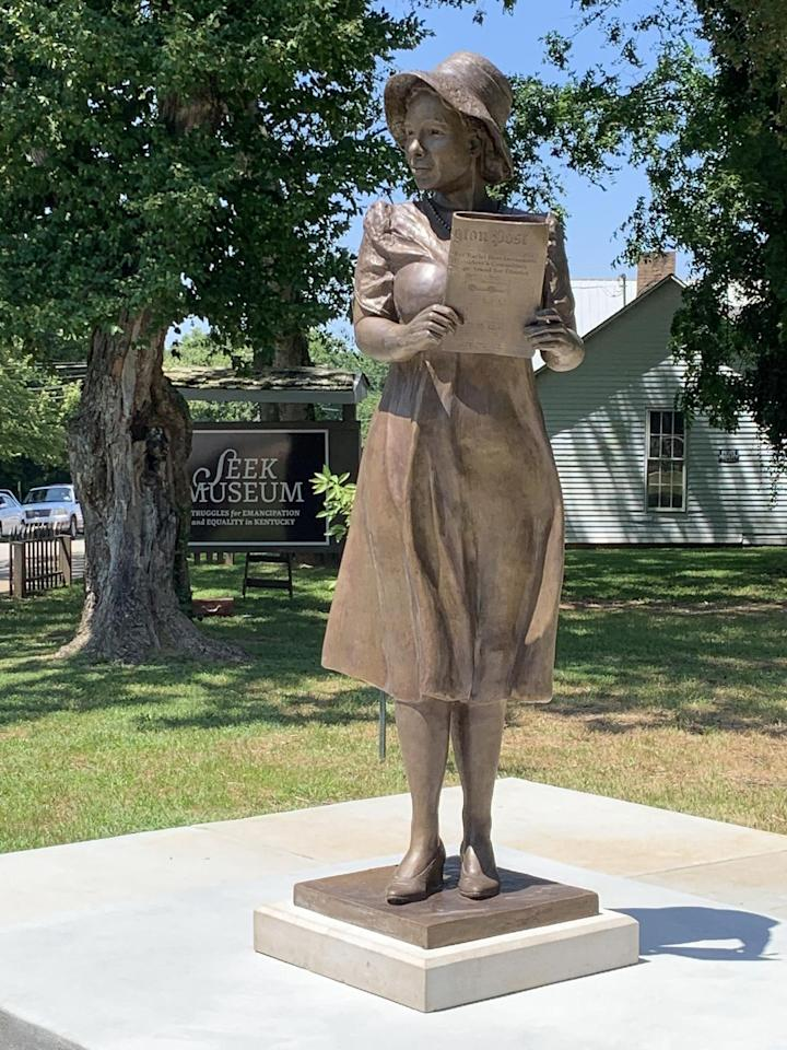 """<p>Alice Allison Dunnigan was the <a href=""""https://www.nytimes.com/2018/08/23/us/alice-allison-dunnigan-newseum-statue.html"""" target=""""_blank"""">first African-American female White House correspondent.</a> She was also the first black female member of the Senate and House of Representatives press galleries.  Her love for writing began when she was 13, penning one-sentence pieces for the <em>Owensboro Enterprise</em>. She became the chief of the Associated Negro Press in 1947, which would allow her a year later to become the first female African American to follow a President's campaign out on the road. While she had to <a href=""""https://www.usatoday.com/story/opinion/2019/01/21/black-journalist-alice-allison-dunnigan-inspired-female-journalists-statue-column/2606681002/"""" target=""""_blank"""">pay her way to cover Harry S. Truman</a> on his Western campaign trail, she would finally receive the respect she deserved when John F. Kennedy was elected. She would serve as an education consultant of the President's Committee on Equal Employment Opportunity until 1965.</p>"""