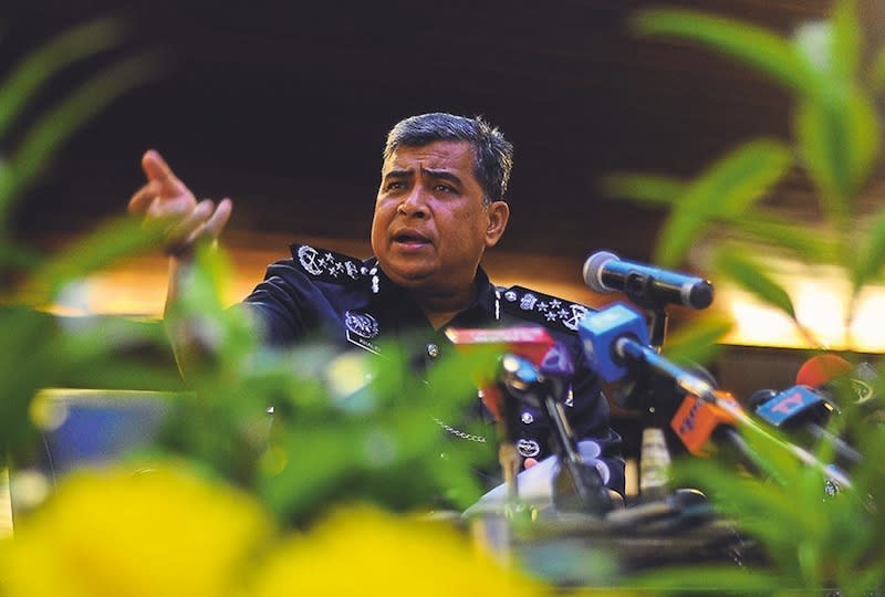 IGP says he doesn't need to answer 'criminal charged in court'
