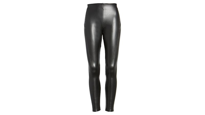 Faux Leather Leggings. (Photo: Nordstrom)