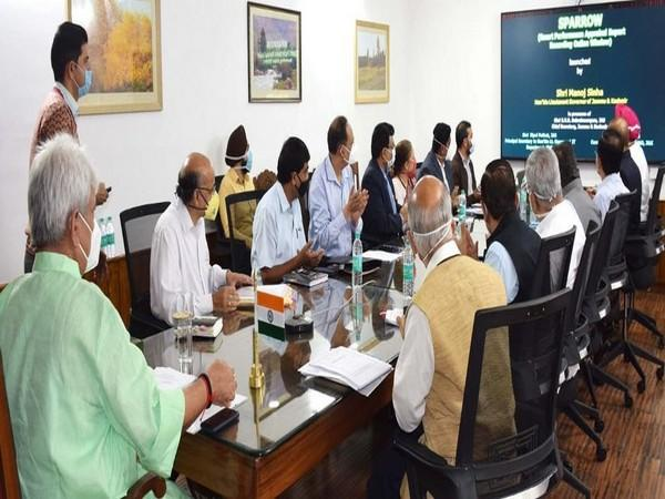 Lieutenant Governor Manoj Sinha on Friday launched Smart Performance Appraisal Report Recording Online Window (SPARROW) system