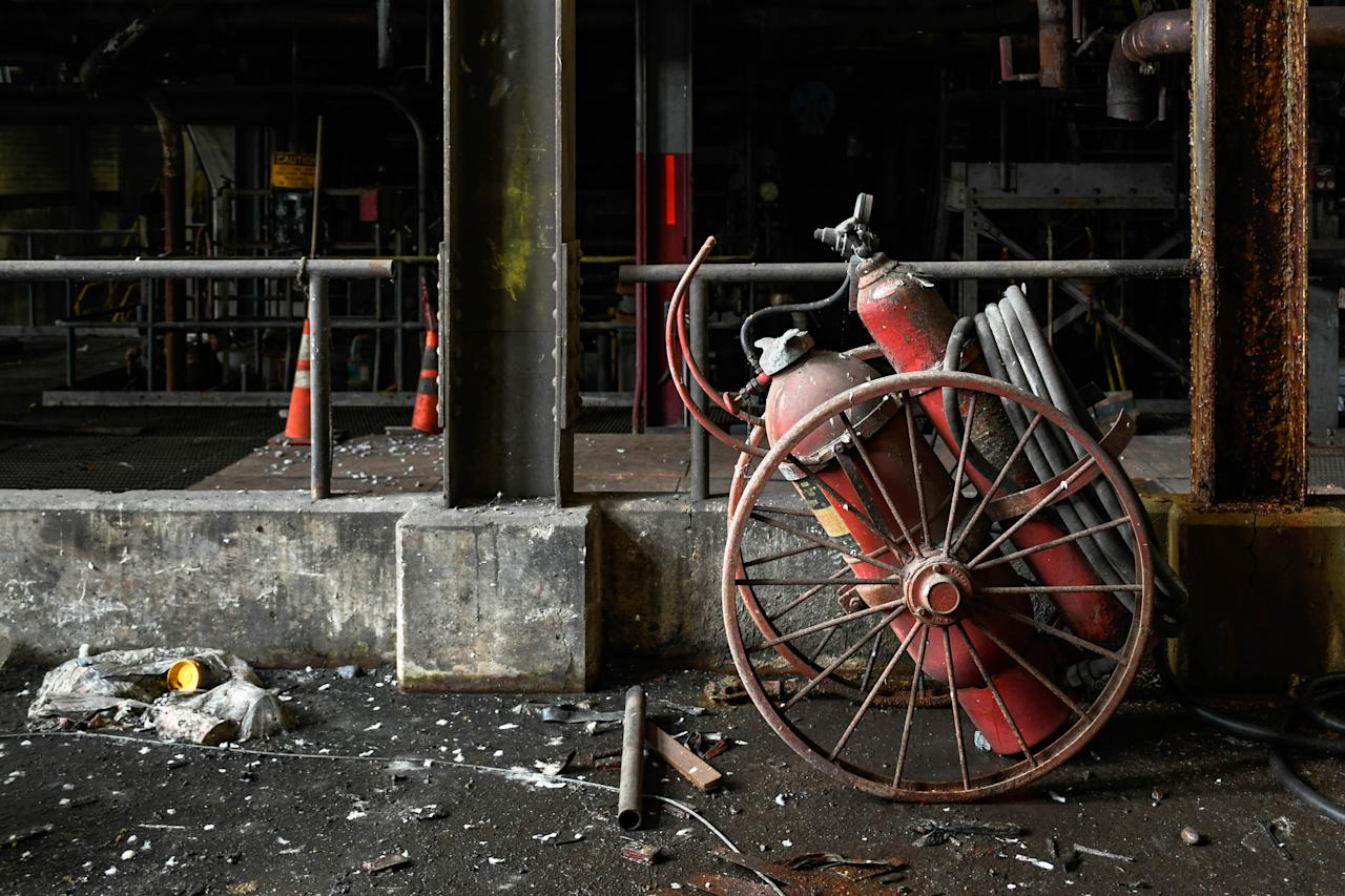 <p>As automation becomes ever-more common, this determined photographer has traveled thousands of miles to document the eerie beauty of abandoned industrial operations. (Photo: Freaktography/Caters News) </p>