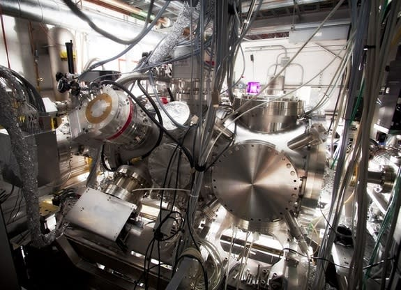 Researchers used an instrument called CAMP to conduct the experiment. It's equipped with an ultrafast laser and imaging system.
