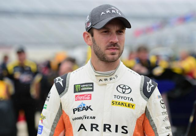 "<a class=""link rapid-noclick-resp"" href=""/nascar/sprint/drivers/3574/"" data-ylk=""slk:Daniel Suarez"">Daniel Suarez</a>, 27, has 21 top-10 finishes in two Cup Series seasons. (Jared C. Tilton/Getty Images)"
