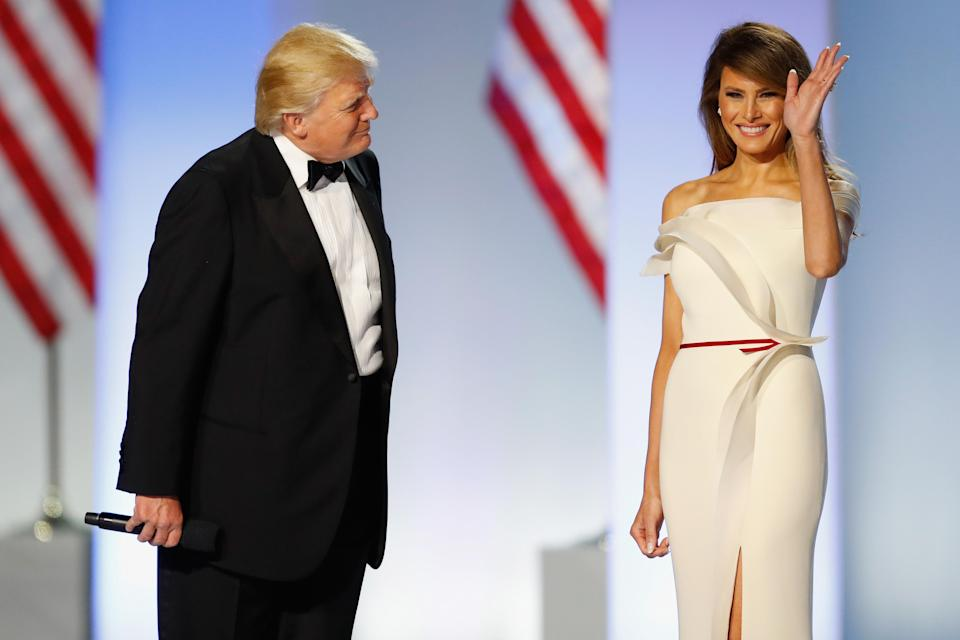 Melania is more popular than her husband [Photo: Getty]
