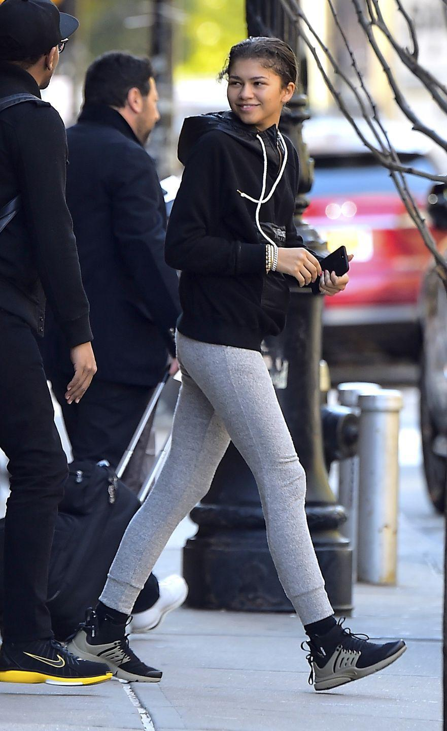 <p>Zendaya always has the best sneakers! Pair any look with some fresh kicks: sweats or even a summer dress, for a Zendaya inspired outfit.</p>
