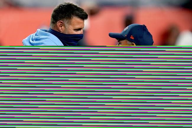 Vrabel's latest test leading Titans through virus outbreak