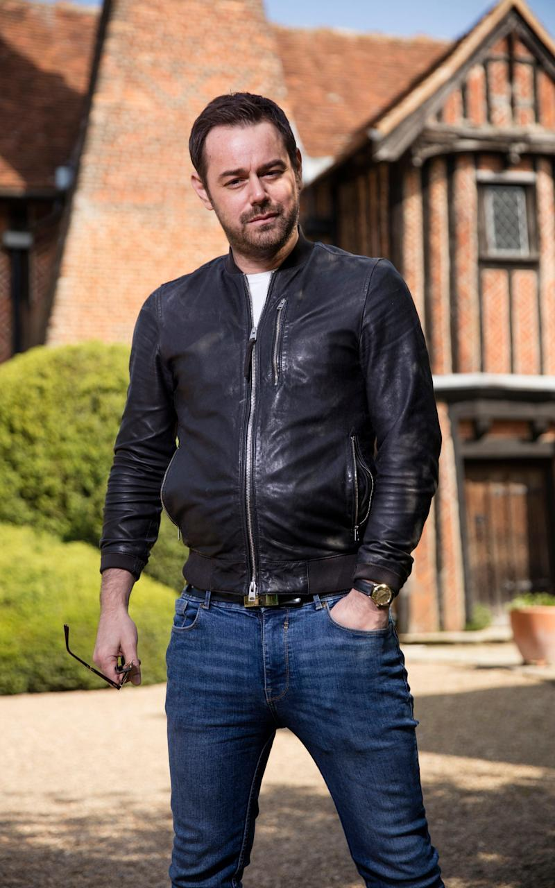 Lord of the manor: Danny Dyer - Credit: BBC