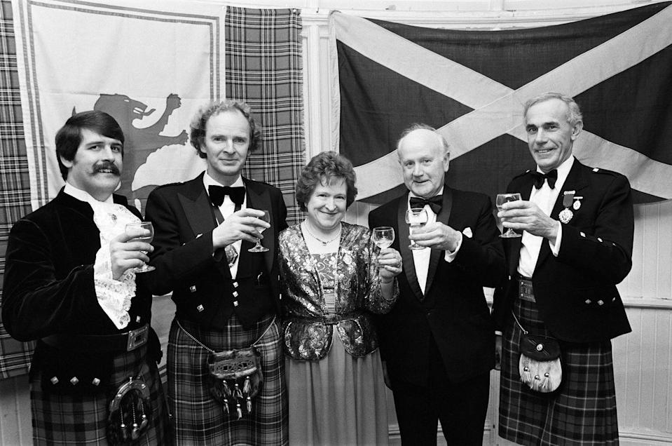 "<p>The way your grandparents commemorated the New Year might have something to do with your roots. In Scotland, New Year's Eve, or <em><a href=""https://www.visitscotland.com/see-do/events/christmas-winter-festivals/hogmanay/"" rel=""nofollow noopener"" target=""_blank"" data-ylk=""slk:Hogmanay"" class=""link rapid-noclick-resp"">Hogmanay</a></em>, as they call the last day of the year, is a bigger deal than Christmas (""Auld Lang Syne"" is a Scottish song, after all). The massive party goes on for days and incorporates age-old acts, such as first-footing. It's considered good luck to have a tall, dark man enter the home for the first time after midnight—bearing auspicious gifts, of course (coal, shortbread, salt, and whiskey are common).</p><p>Germany has <em><a href=""http://www.alpinevillagecenter.com/bleigiessen-lead-pouring-predictions-new-year/"" rel=""nofollow noopener"" target=""_blank"" data-ylk=""slk:Bleigiessen"" class=""link rapid-noclick-resp"">Bleigiessen</a></em>, a ""lead-pouring"" custom, and the Irish apparently <a href=""http://ireland-calling.com/irish-new-year-traditions/"" rel=""nofollow noopener"" target=""_blank"" data-ylk=""slk:bang bread against the walls"" class=""link rapid-noclick-resp"">bang bread against the walls</a> to beat off bad luck. You could also coordinate your underwear to your hopes for the year (red for love, yellow for happiness, and so on)—a <a href=""https://www.npr.org/2016/12/31/507686717/underwear-dolls-and-more-latin-american-new-years-traditions"" rel=""nofollow noopener"" target=""_blank"" data-ylk=""slk:Latin American custom"" class=""link rapid-noclick-resp"">Latin American custom</a>. Start calling your Christmas tree a New Year's tree, as they do in Russia, dive into icy waters like in <a href=""http://www.abc-hotel.de/angebote/pdf/E_Silvesternacht.pdf"" rel=""nofollow noopener"" target=""_blank"" data-ylk=""slk:Konstanz, Germany"" class=""link rapid-noclick-resp"">Konstanz, Germany</a>, or similarly, participate in a Canadian-inspired <a href=""https://globalnews.ca/news/3155017/polar-bear-swim-canadians-across-the-country-gear-up-for-icy-plunge/"" rel=""nofollow noopener"" target=""_blank"" data-ylk=""slk:polar bear plunge"" class=""link rapid-noclick-resp"">polar bear plunge</a>. </p>"