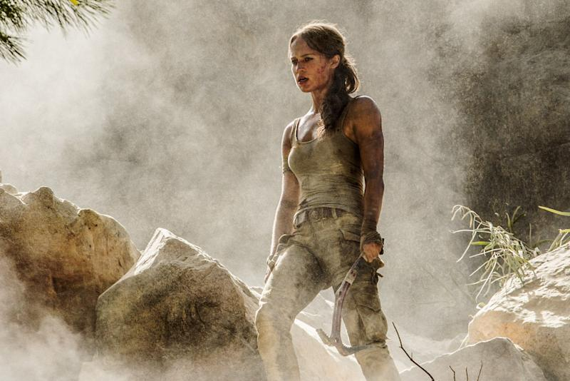 Alicia Vikander as Lara Croft (Warner Bros.)