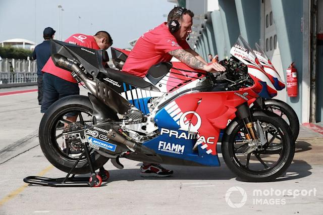 "Pramac Racing, moto <span class=""copyright"">Gold and Goose / Motorsport Images</span>"