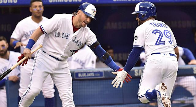 It's looking more and more like Josh Donaldson's days with the Blue Jays are done. (Frank Gunn/CP)