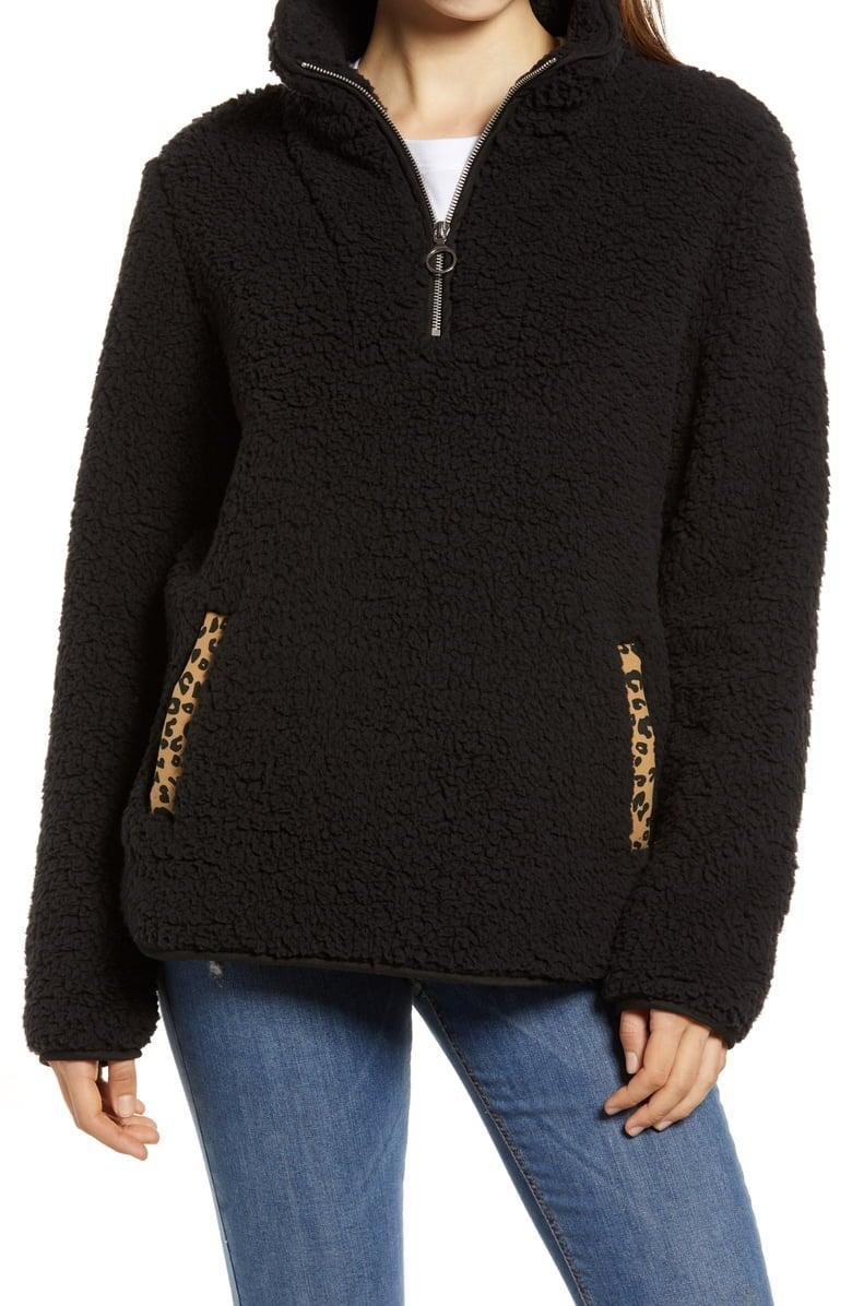 <p><span>Thread &amp; Supply Wubby Fleece Pullover</span> ($29, originally $78)</p>