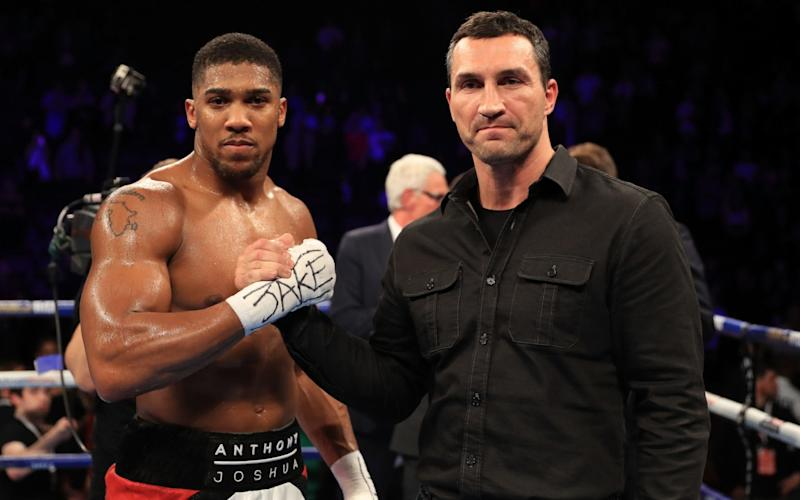 Wladimir Klitschko fights Anthony Joshua at Wembley - Getty Images Sport