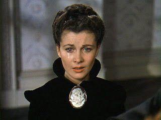 <p>Through the many lives of Scarlett O'Hara, Vivien Leigh served up many memorable looks. But when it came to jewelry, there's nothing more iconic than the oversized, Victorian cameo brooch she wore in <em>that</em> final scene. Frankly, my dear, we'll never forget this piece. </p>