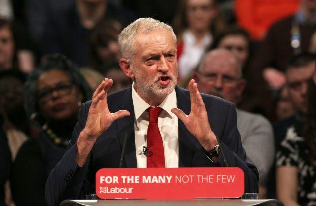 Jeremy Corbyn claimed Labour could be in power within a year (Aaron Chown/PA)