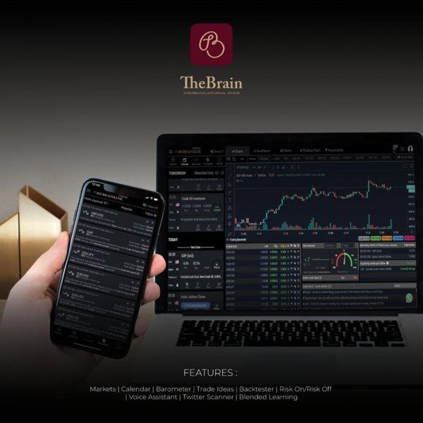 TheBrain - AI Trade Strategies is Asia's first AI Personal Financial Advisor. Developed by Bonjour Technology Sdn Bhd (BigBrainBank.org), it is available on Android and iOS App Stores, and desktop version. The app significantly helps both corporate and retail investors to improve their trading result through trade ideas, risk on risk off, backtester and a host of advanced features. The algorithmic system benchmarks a minimum 66% historical success rate as part of its key feature.