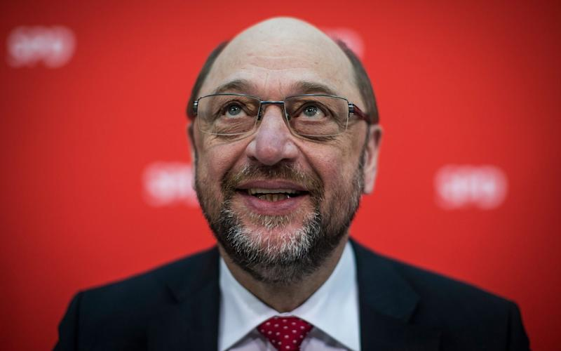 The newly appointed leader of the Social Democratic Party (SPD) and candidate for chancellor Martin Schulz attends a party board meeting in Berlin, Germany