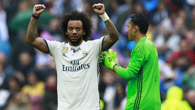 Marcelo and Dani Carvajal won the praise of Zinedine Zidane after their contributions to Real Madrid's win over Valencia.