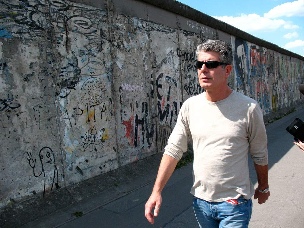 Anthony Bourdain in Berlin as seen on Anthony Bourdain: No Reservations.