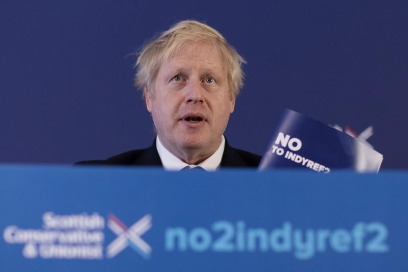 PM Johnson's lead over Labour narrows one point to 11 points - YouGov poll