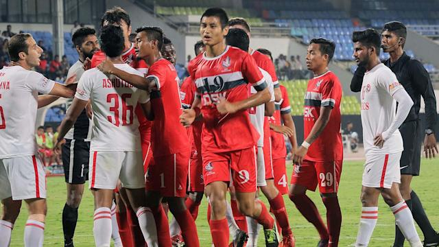 The DSK Shivajians saw their players refuse to take part in training ahead of a friendly against FC Pune City, with senior players leading agitation..