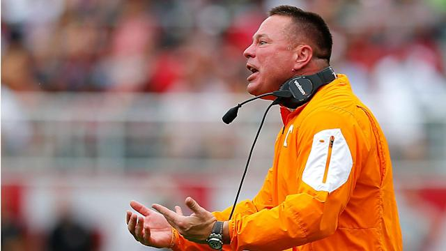 Tennessee coach Butch Jones seems to have had it with local media in Knoxville.