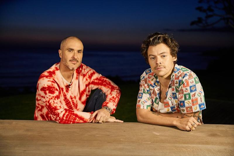 Harry Styles and Zane Lowe | Courtesy Apple Music's Beats 1