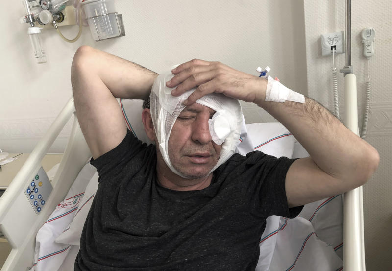 Turkish opposition journalist hospitalized following attack