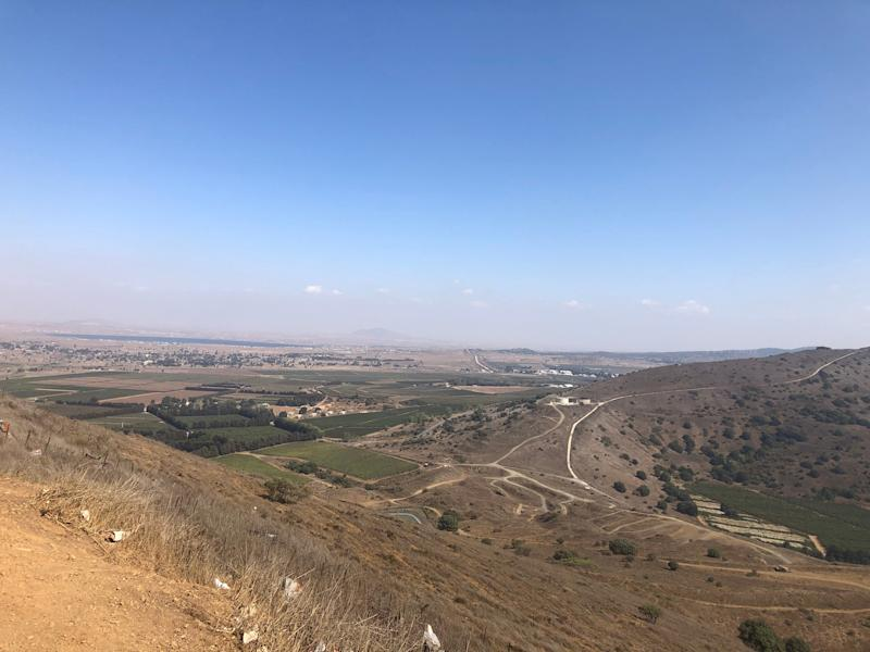 A view of Syria just a few miles inside the Golan Heights, territory Israel considers its own but that the international community says it annexed illegally.