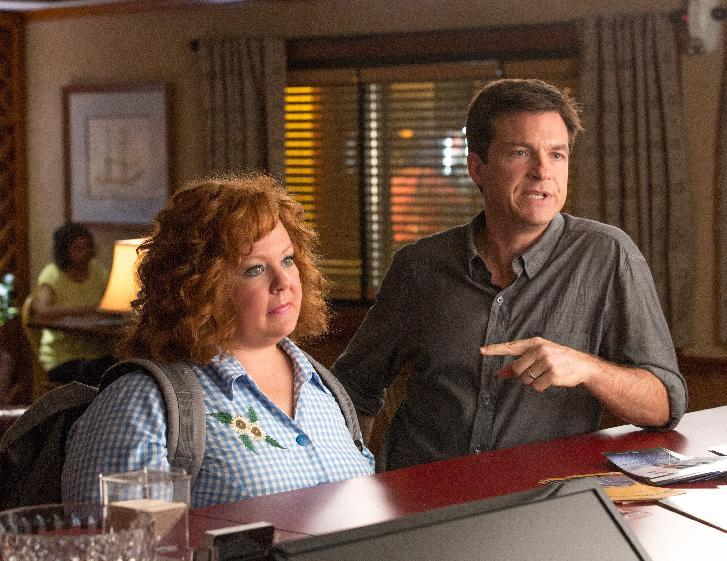 """This undated publicity image released by Universal Pictures shows Jason Bateman, right, and Melissa McCarthy in a scene from, """"Identity Thief."""" (AP Photo/Universal Pictures)"""