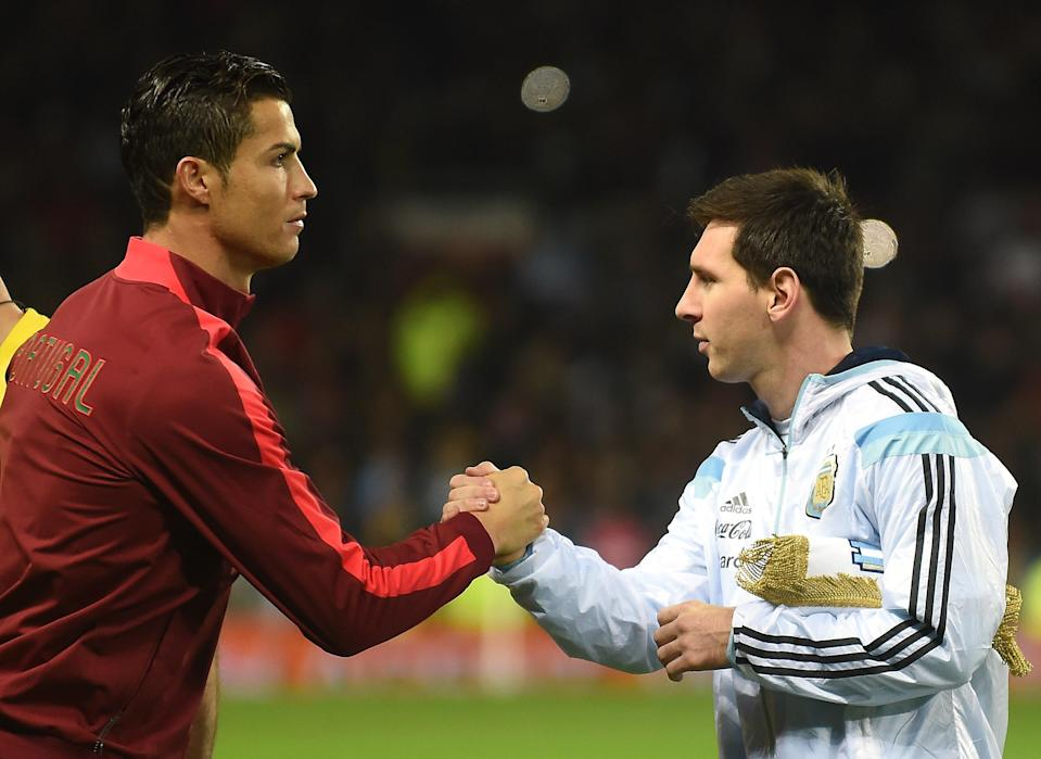 Portugal's Cristiano Ronaldo and Argentina's Lionel Messi are the consensus two best players in the world heading into the 2018 World Cup. (Getty)