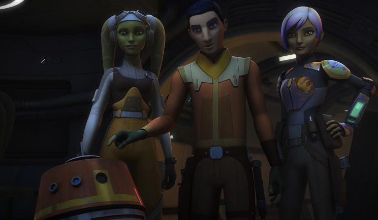 'Star Wars Rebels' - Credit: Getty