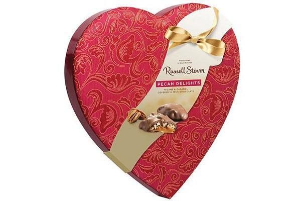 Valentines Candy Ranked Russell Stover Pecan Delights