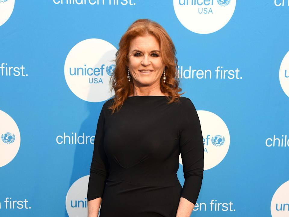 Sarah Ferguson at the UNICEF Gala in 2019 (Getty Images for UNICEF USA)