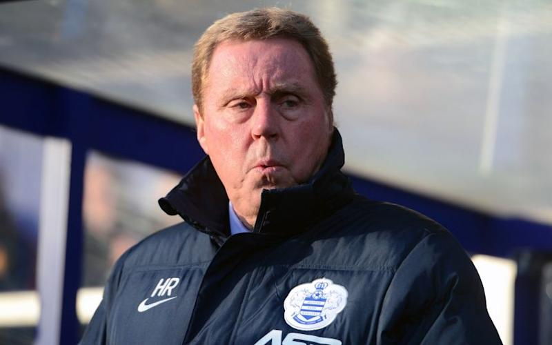 Harry Redknapp  - Credit: pa