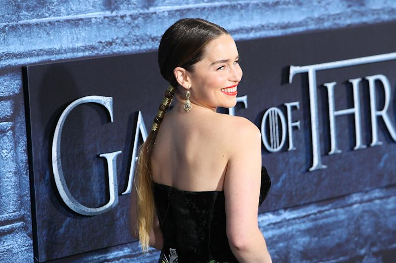 'Game of Thrones' Star Emilia Clarke Debuts Pixie Cut