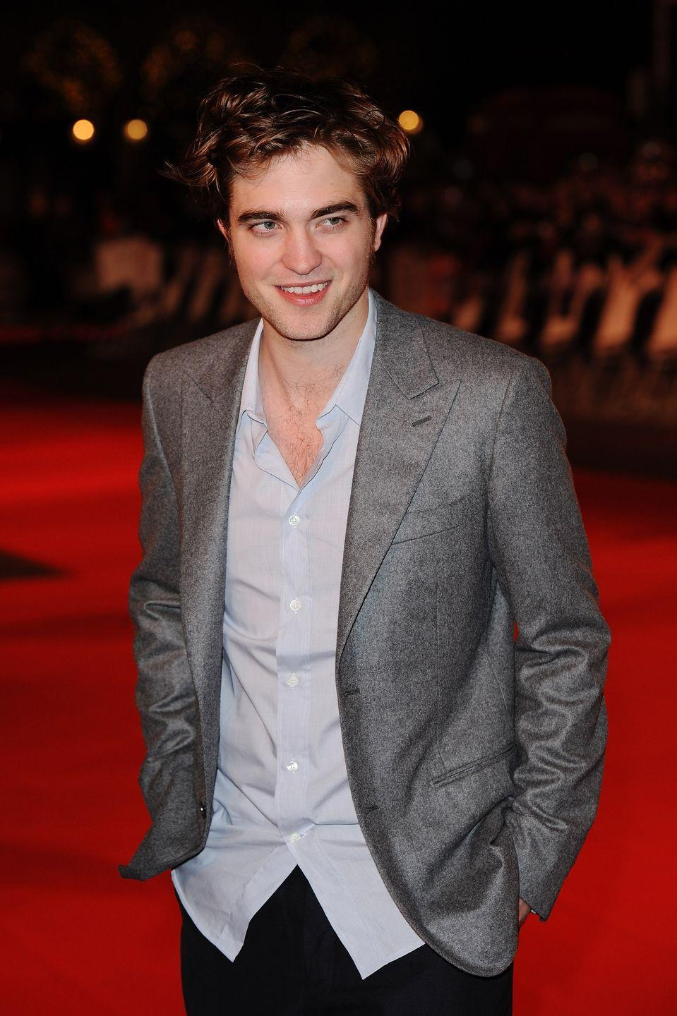 <p>It was peak <em>Twilight</em>-mania when Robert Pattinson strayed from the multi-part saga to lead up the romantic comedy <em>Remember Me. </em>It's safe to say, he was a big deal in 2010—unless you were Team Jacob. </p>
