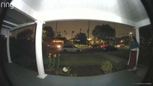 PHOTO: A doorbell camera captured a woman's chilling screams during a possible kidnapping in Los Angeles. (Ring via WABC)