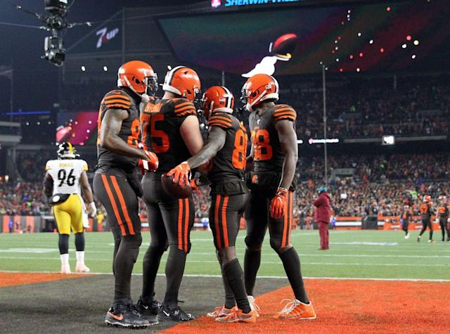 Browns vs. Steelers rematch flexed to 1 p.m. on Dec. 1