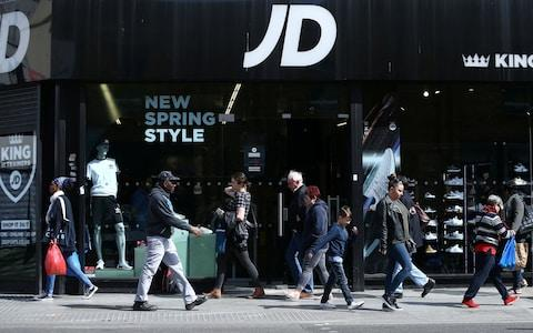 JD Sports - Credit: NEIL HALL/REUTERS