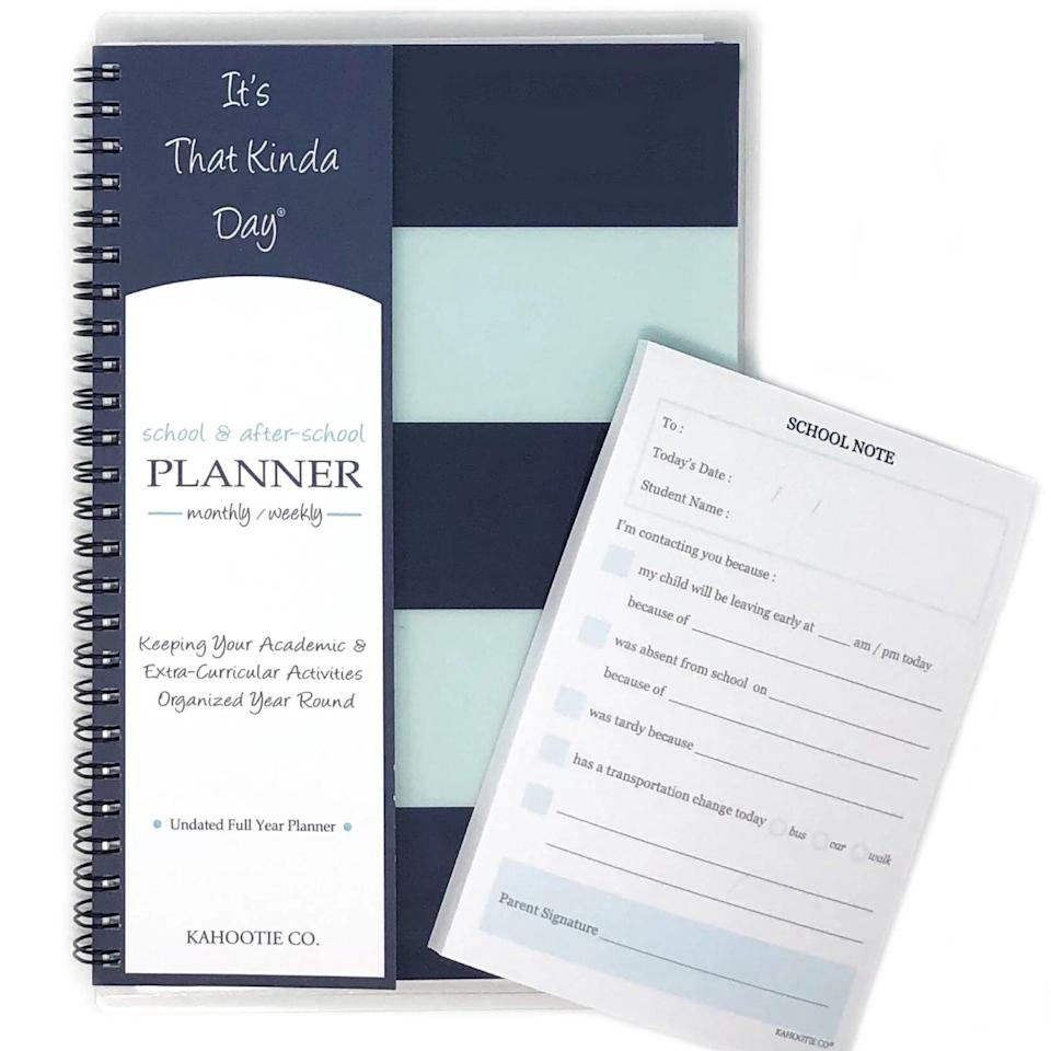 <p>This <span>Undated Academic Planner</span> ($22) will be your secret weapon this school year.</p>