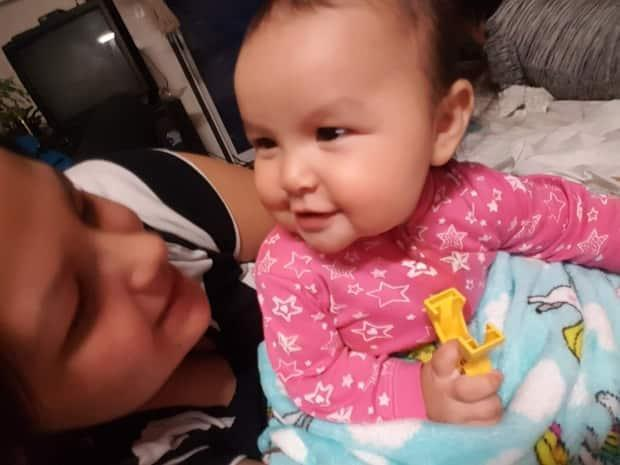 Keira Prince, 22, says a pre-sentence report with a Gladue component gave her a chance to raise her daughter, Lilah. (Keira Prince/Supplied - image credit)
