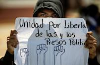 The government of President Daniel Ortega has been accused of political persecution for rounding up opposition figures, including seven aspiring presidential candidates (AFP/Inti OCON)