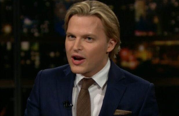 Bill Maher Once Again Asks Ronan Farrow If He's Frank Sinatra's Son: 'You Do Own a Mirror?'