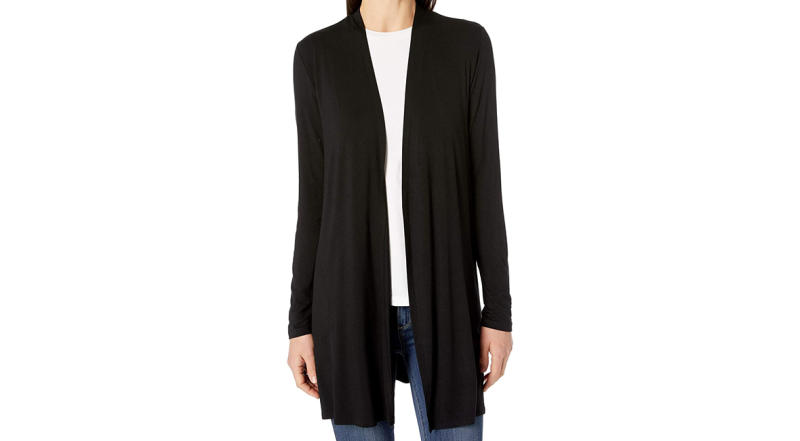 Amazon Essentials Women's Long-Sleeve Open-Front Cardigan (Photo: Amazon)