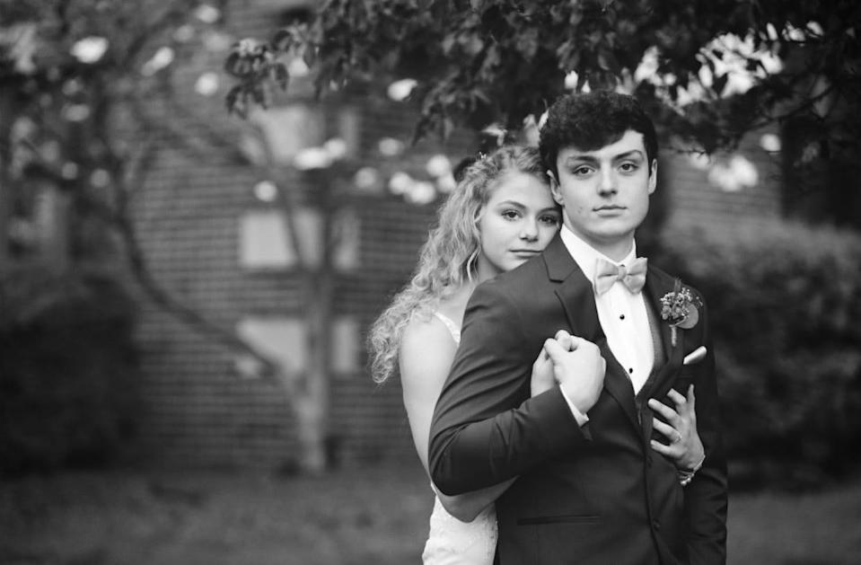 Chase and Sadie Smith were married April 29, 2020. Chase had Ewing's sarcoma.