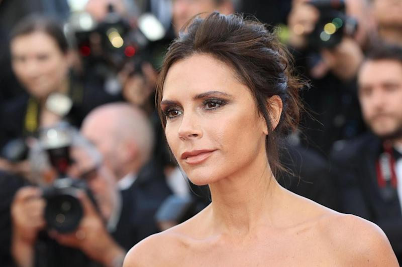 Posh Spice: Victoria Beckham is currently in New York for Fashion Week (AFP/Getty Images)