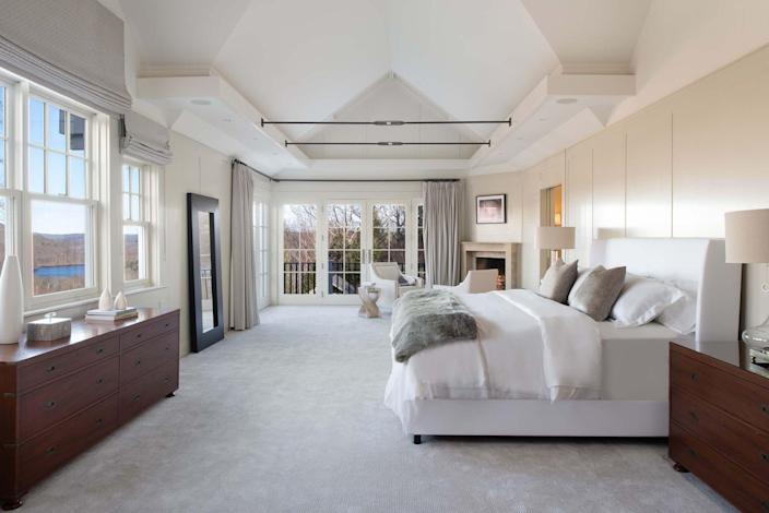 <p>The four houses have a total of 12 bedrooms. Here, the interiors were staged by LTW Design.</p>