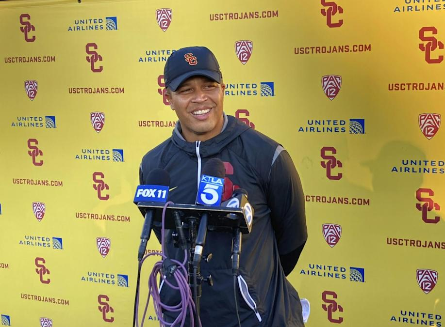Donte Williams' coaching status is interim; his place in USC history is permanent